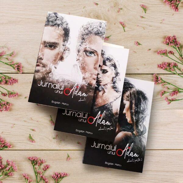 """Pachet 3 volume """"Jurnalul unui Adam"""" 1"""
